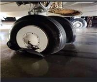 لجنة للتحقيق وفحص أوراق طائرة مصرية انفجرت إطاراتها أثناء هبوطها