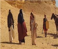 مادلين طبر تصور فيلمها الجديد بـ«الفيوم»: أرض طهارة وتعبد وراحة