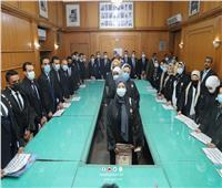 جلسة حلف اليمين القانونيةلـ 5 نقابات فرعية بـ«المحامين» | صور