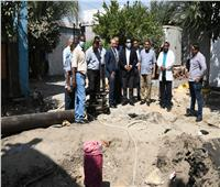 نائب محافظ قنا يتفقد أعمال حفر الآبار الشاطئية وتوصل المياه