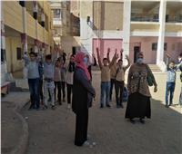 مواطن يقتحم مدرسة بالمحلة الكبرى ويعتدي على الطلبة والمدرسات بـ«خرطوم»