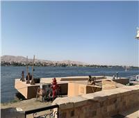 صور وفيديو| استعدادات مكثفة للكرنفال الفرعوني العالمي بافتتاح طريق الكباش