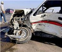 إصابة 4 أشخاص من أسرة واحدة في تصادم سيارتين بـ«دائري المنيا»