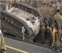 مقتل جندي بريطاني إثر انقلاب دبابة