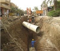 توصيل الصرف الصحي بمنازل الأقصر بنسبة 43%