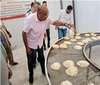 رئيس مدينة الشهداء يتفقد النسب التنفيذية لمشروعات «حياة كريمة»