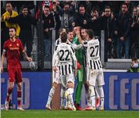 الدوري الإيطالي| يوفنتوس يتقدم على روما بهدف في الشوط الأول