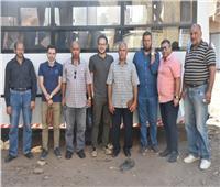 جامعة مدينة السادات تنظم قافلة طبية مجانية إلى قرية «عشما» بالمنوفية