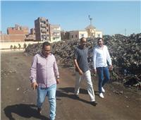 «رئيس حى غرب» يتابع انتظام العمل بمصنع تدوير القمامة بـ «شبين الكوم»