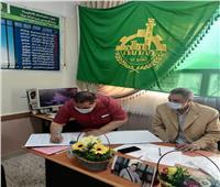 رئيس مركز ومدينة كفر شكر يتابع خدمات وانتظام الدارسة