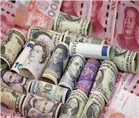 انخفاض أسعار العملات الأجنبية في بداية التعاملات