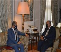 في أول زيارة للقاهرة.. وزير الدولة البريطاني يؤكد على أهمية العلاقات مع مصر