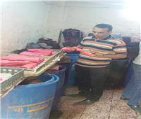 ضبط 501 كجم حلوي المولد غير صالحة خلال حملات رقابية بالمنيا