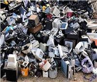 النفايات الإلكترونية  الأجهزة البالية كنز المعادن الحرة الضائع