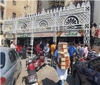 سرادقات الحلوىتغزو مدينة طنطا في احتفالات المولد النبوي| صور