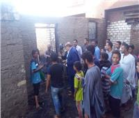 محافظ سوهاج يتابع تداعيات حريق أولاد حمزة بالمنشأة