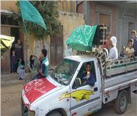 احتفالات «الصوفية» تجوب شوارع المنيا بمناسبة المولد النبوى الشريف