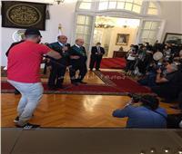 رئيس مجلس الدولة للقاضيات الجدد: «منورين»| صور