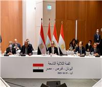 كلمة الرئيس السيسيخلال المؤتمر الصحفي عقب القمة الثلاثية بين مصر وقبرص واليونان