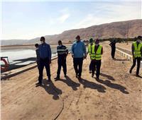 «رئيس مياه سوهاج» يؤكد على  ضرورة تأمين بيئة العمل