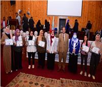 جامعة سوهاج تحتفل باستقبال الدفعة الثانية من طلاب كلية التربية النوعية