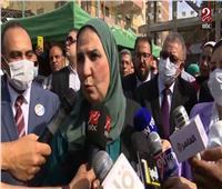 «وزيرة التضامن»: نسعى للوصول لمحافظات «حياة كريمة» | فيديو