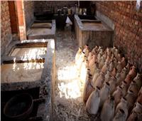 صور  انطلاق موسم صناعة العسل الأسود بنجع حمادي