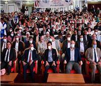 «مفهوم الوعي» علي مائدة وزير الرياضة خلال لقاء حواري مع شباب محافظة بني سويف