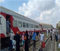 سيدة وطفلتاها فرقهم قطار وجمعتهم محطة السكة الحديد بالمحلة