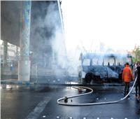 استهداف حافلة للجيش السوري بقنبلتين ووقوع ضحايا ومصابين| فيديو وصور