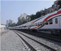 حركة القطارات  70 دقيقة التأخيرات بين قليوب والزقازيق والمنصورة