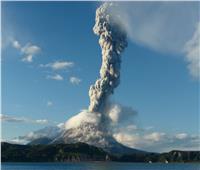 ثوران بركان جبل «أسو» جنوب غرب اليابان
