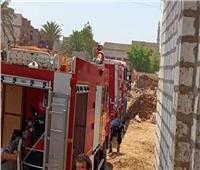 مصرع وإصابة 4 أشخاص في حريق حظائر ماشية بالمنيا