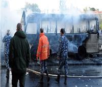 مصدر عسكري سوري يكشف تفاصيل حادث تفجير الحافلة بوسط العاصمة دمشق