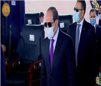 وصول الرئيس السيسي أكاديمية الشرطة