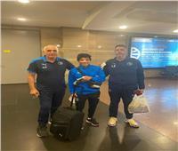 إسلام عيسي لاعب بيراميدز يعود للقاهرة قادما من إثيوبيا