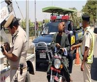تحرير 2850 مخالفة لقائدي الدراجات النارية لعدم ارتداء الخوذة