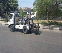 رفع 45 سيارة ودراجة نارية متهالكة بمختلف محافظات الجمهورية