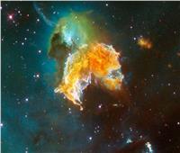 «جمجمة باك مان» تبتلع نجوم الكون.. فيديو