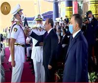 الرئيس السيسي يكرم أوائل كلية الشرطة دفعة 2021