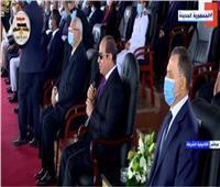 الرئيس السيسي: رجال الشرطة يجب أن يكونوا قدوة للمواطنين