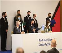 «إحياء الجذور».. وزيرة الهجرة توقع مذكرة تفاهم مع نظيريها القبرصي واليوناني