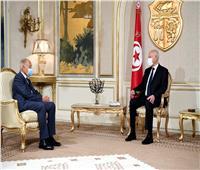 سعيد خلال لقائه أبو الغيط: منفتحون على التشاور مع الدول الصديقة