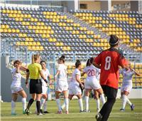 الشوط الأول | تقدم تونس علي مصر ٢-١ في تصفيات أمم أفريقيا للكرة النسائية