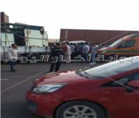 ننشر صور الحادث المروع أعلى الطريق الدائرى الأوسطى