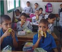 بدء توزيع الوجبات المدرسية في بعض المحافظات| فيديو