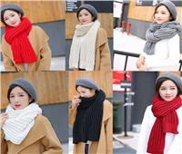 للسيدات| كيفية ارتداء الكوفية بطرق مختلفة في فصل الشتاء