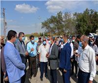 محافظ الإسماعيلية يفتتح أعمال التطوير بميدان أبو سلطان الرئيسي