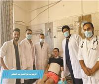فريق طبى ينقذ حياة شاب تعرض لضربة «ساطور» بالإسكندرية