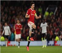 دوري الأبطال  ماجواير يسجل هدف التعادل لمانشستر يونايتدفي أتالانتا